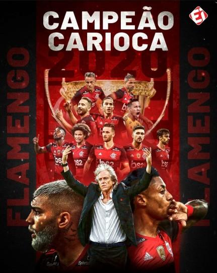 Meu ZapZap - Imagens Flamengo Campeão Carioca 2020 ...
