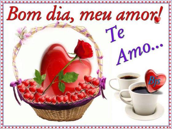 Meu Zapzap Imagens Bom Dia Amor Saudações Para Whatsapp