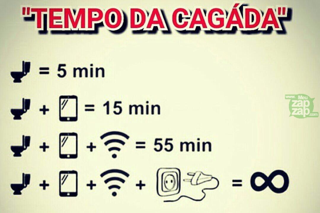 Meu Zapzap Imagens Tempo No Banheiro Engraçadas Para Whatsapp E